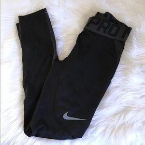 Nike Pro Men's HyperWarm Pants Compression Tights